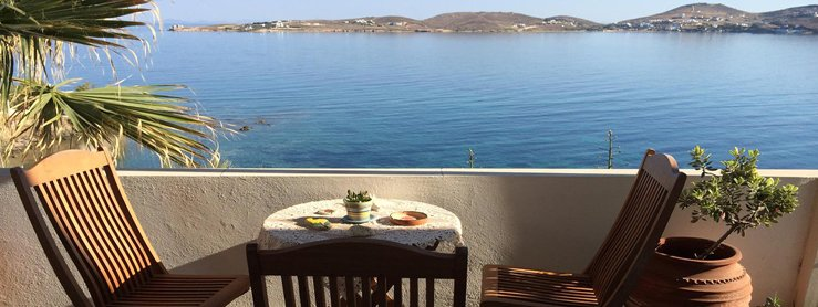 Rooms in Paros Greece